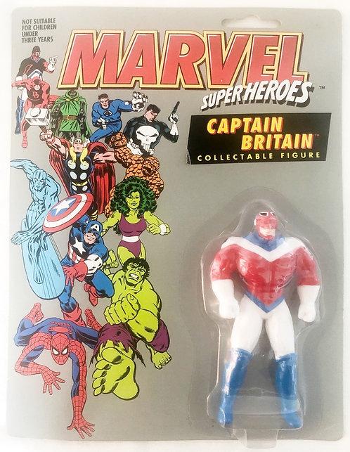 Marvel Superheros Captain Britain Figure 1991