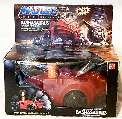 He-Man  And The Masters Of The Universe Bashasaurus Mattel 1984