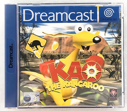 Kao The Kangaroo Dreamcast U.K. (PAL)
