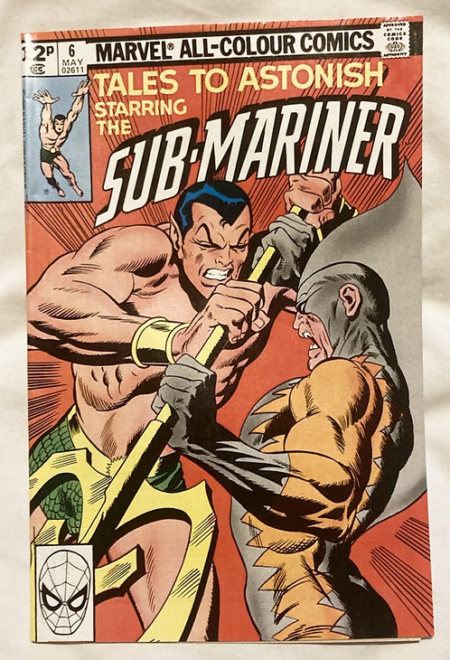 Marvel Tales To Astonish Sub-Mariner #6 May 1979