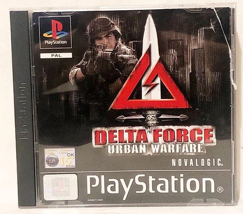 Delta Force Urban Warfare PlayStation Game U.K. (PAL)