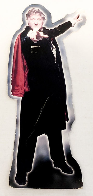 Doctor Who Third Doctor Card Cut Out 10'' 1996