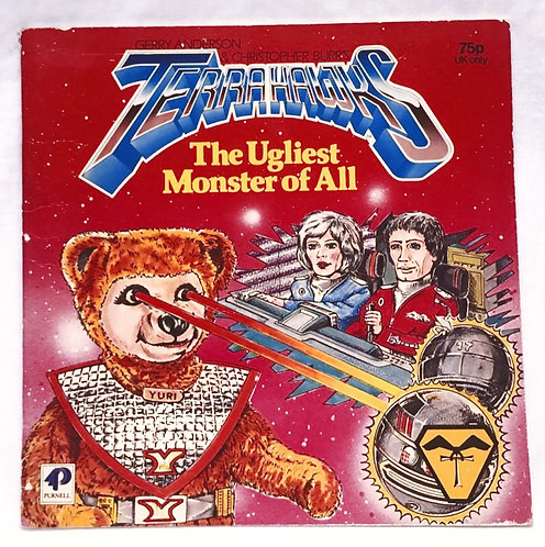Terrahawks The Ugliest Monster Of All Book