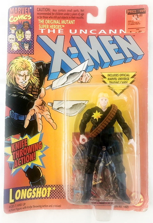 The Uncanny X-Men Longshot Figure Toy Biz 1993