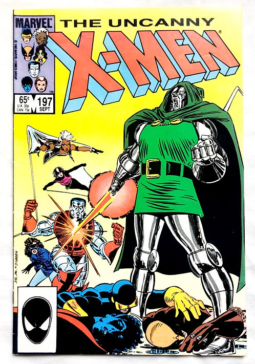 Marvel The Uncanny X-Men #197 1985