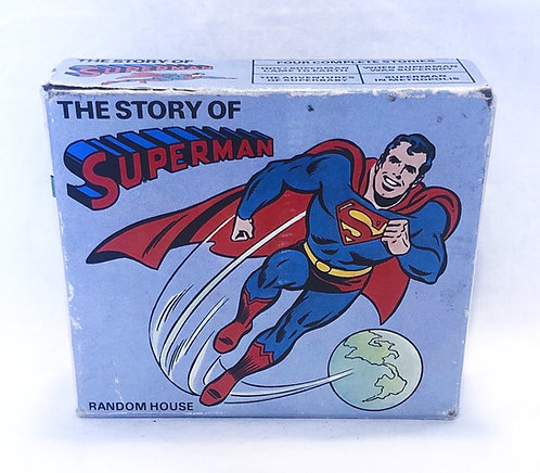 Vintage Superman Book Set 1980