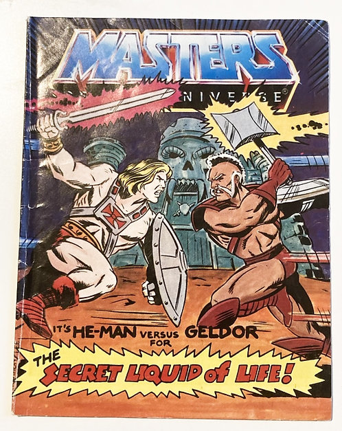 He-Man And The Masters Of The Universe The Secret Liquid Of Life