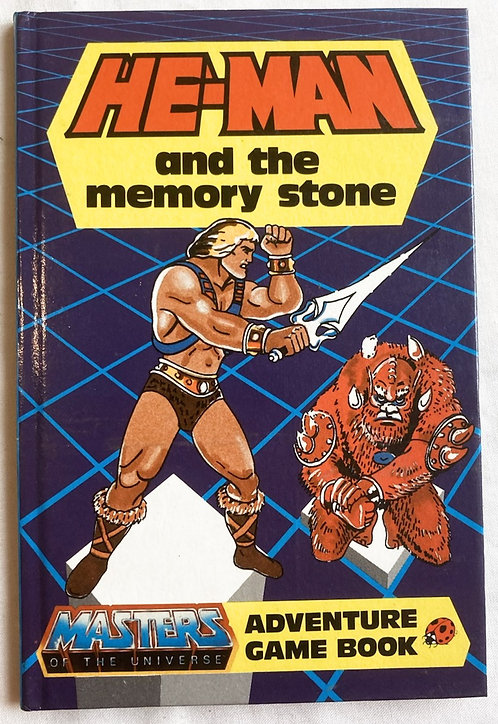 He-Man And The Masters Of The Universe He-Man And TheMemory Stone Adventure Game