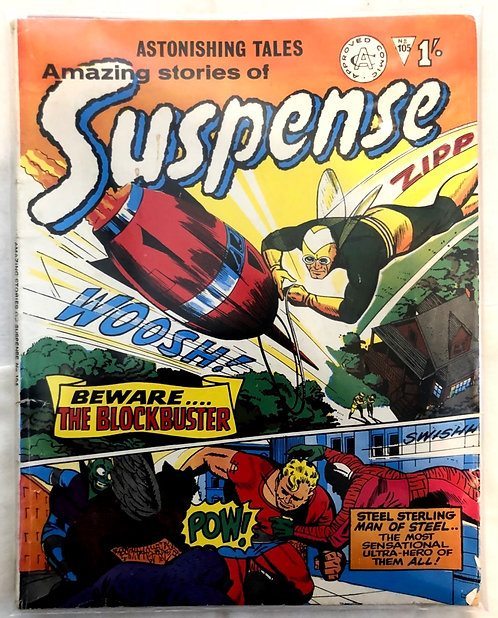 Astonishing Tales Amazing Stories Of Suspense #214 #220 Set