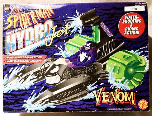 Spider-Man Motorized Hydro Jet Venom Toy Boz 1998