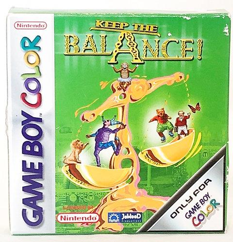 Keep The Balance! Nintendo Gameboy Colour
