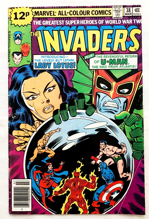 Marvel The Invaders #38 1979
