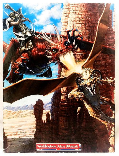 Dungeons And Dragons 500 Piece Jigsaw Waddingtons