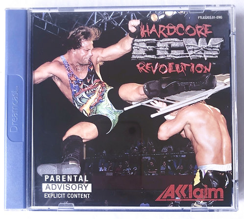 Hardcore ECW Revolution Dreamcast (Pal UK)