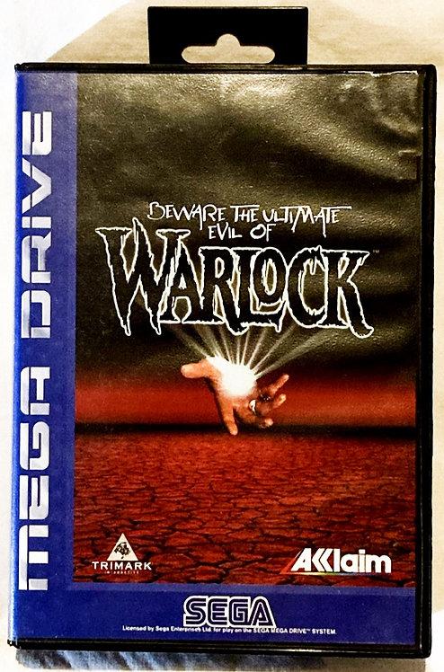 Sega Mega Drive Warlock (PAL) 1995