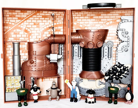 Wallace And Gromit Set 1989