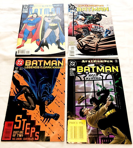Vintage Batman Comic Set