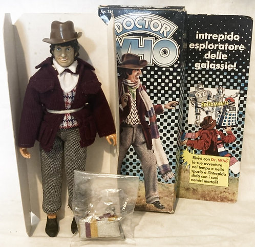 Vintage Doctor Who 4th Doctor Tom Baker Harbert Italy 1979