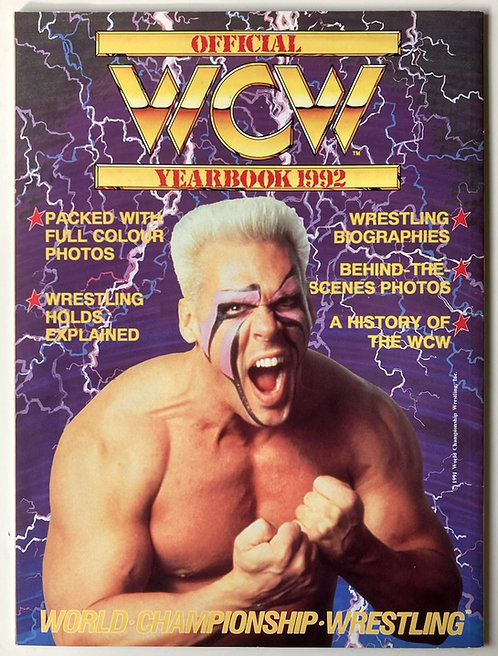Official WCW Yearbook 1992