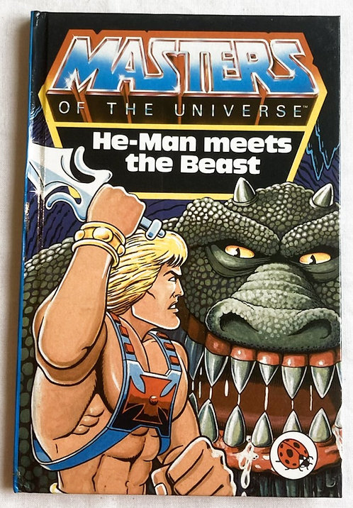 He-Man And The Masters Of The Universe He-Man Meets The Beast Book Ladyb