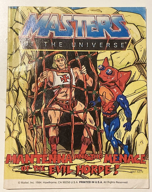 He-Man And The Masters Of The Universe Mantenna And The Menace Of The Evil Horde