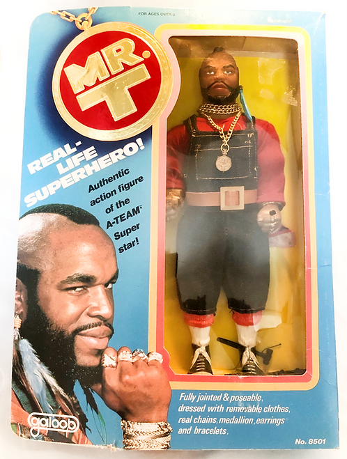 The A-Team Mr T. 12'' Galoob 1983