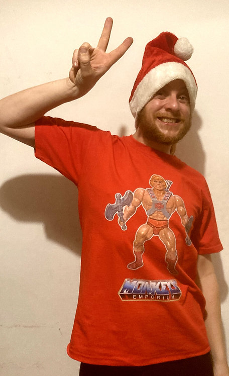 ''I Have The Power'' Monkeys Emporium T-Shirt Red