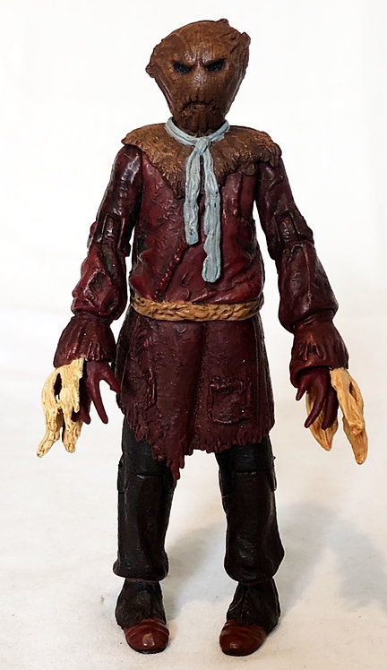 Doctor Who Scarecrow (Maroon Tunic / Gray Tie)