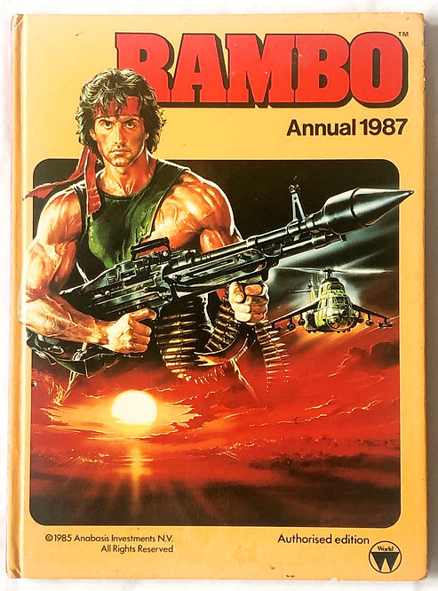 Rambo Annual 1987