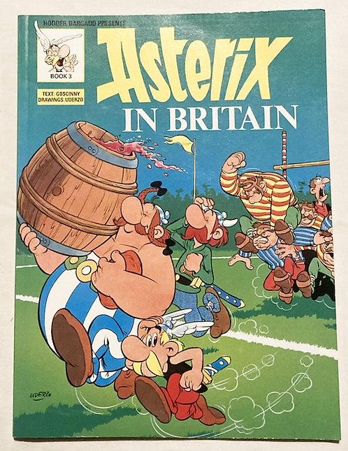 Asterix In Britain Book 3 1988