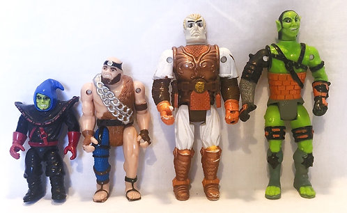 Vintage Advanced Dungeons & Dragons Action Figure Set