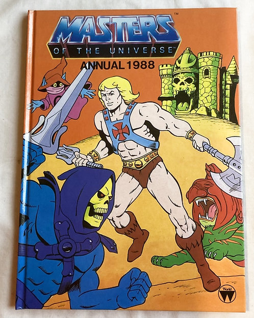 He-Man And The Masters Of The Universe Annual 1988