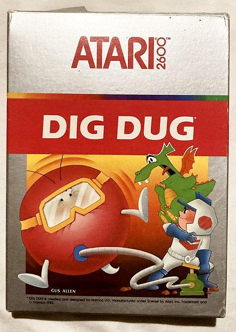Atari 2600 Dig Dug Namco Ltd 1982