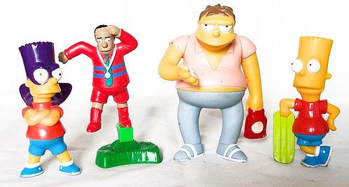 The Simpsons Figure Set Burger King