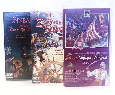 Sinbad VHS Set