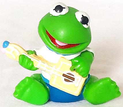 Vintage Muppet Babies Kermit PVC 1985