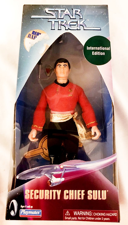 Star Trek Security Chief Sulu Playmates 1999