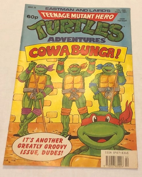 Teenage Mutant Hero Turtle Comic (UK)