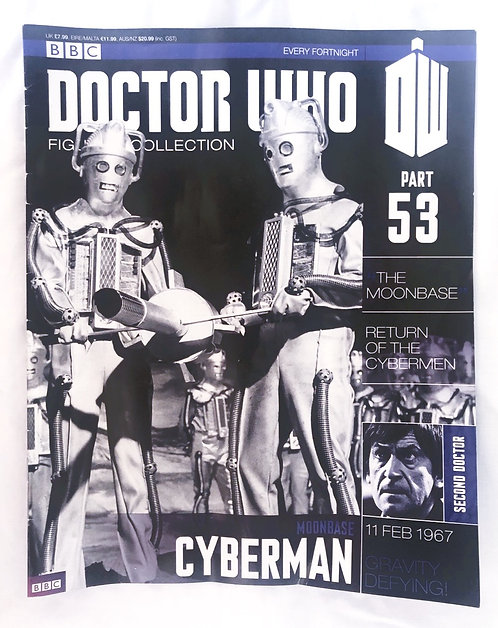Doctor Who Figurine Collection 53 - Cyberman Moonbase