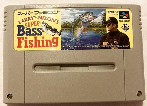 Nintendo Super Famicom Larry Nixon's Super Bass Fishing