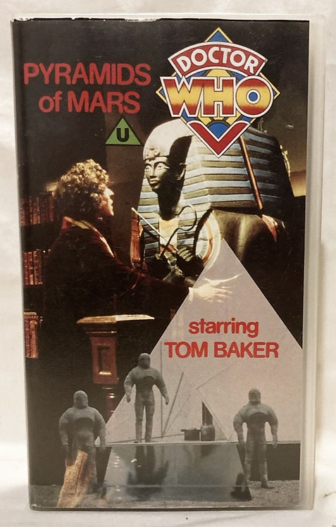 Doctor Who Pyramids Of Mars VHS