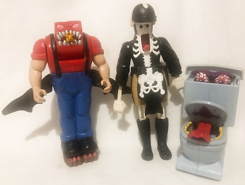 Vintage The Real Ghostbusters Ghost Set