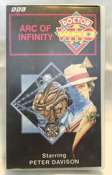 Doctor Who Arc Of Infinity VHS Video Peter Davison