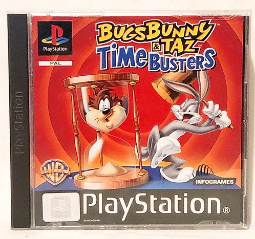 Bugs Bunny And Tag TimeBusters PlayStation Game U.K. (PAL)