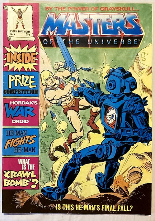 He-Man And The Masters Of The Universe Comic No 7 1986