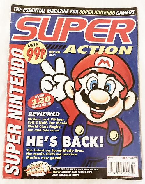 Super Action Nintendo Magazine No 11. Aug 1993