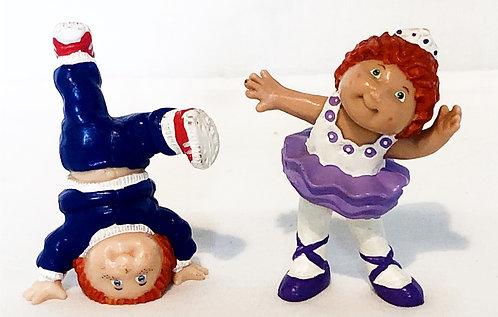 Cabbage Patch Kids Mini Figure Set Coleco 1984