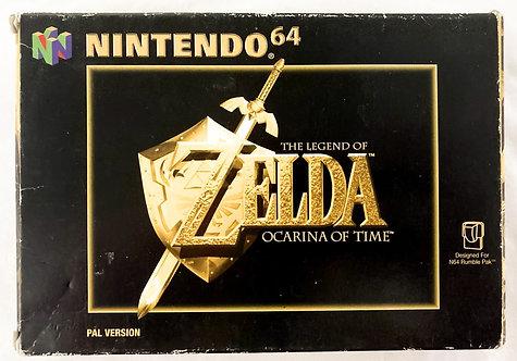 Nintendo N64 Zelda Ocarina Of Time (PAL) 1998