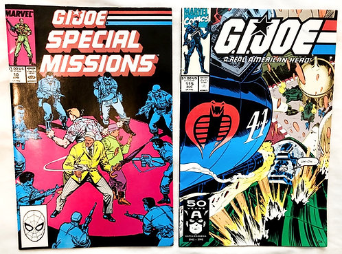 G.I. Joe Marvel Comic Set