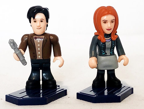 Doctor Who Character Building Micro Figure Amy And Doctor
